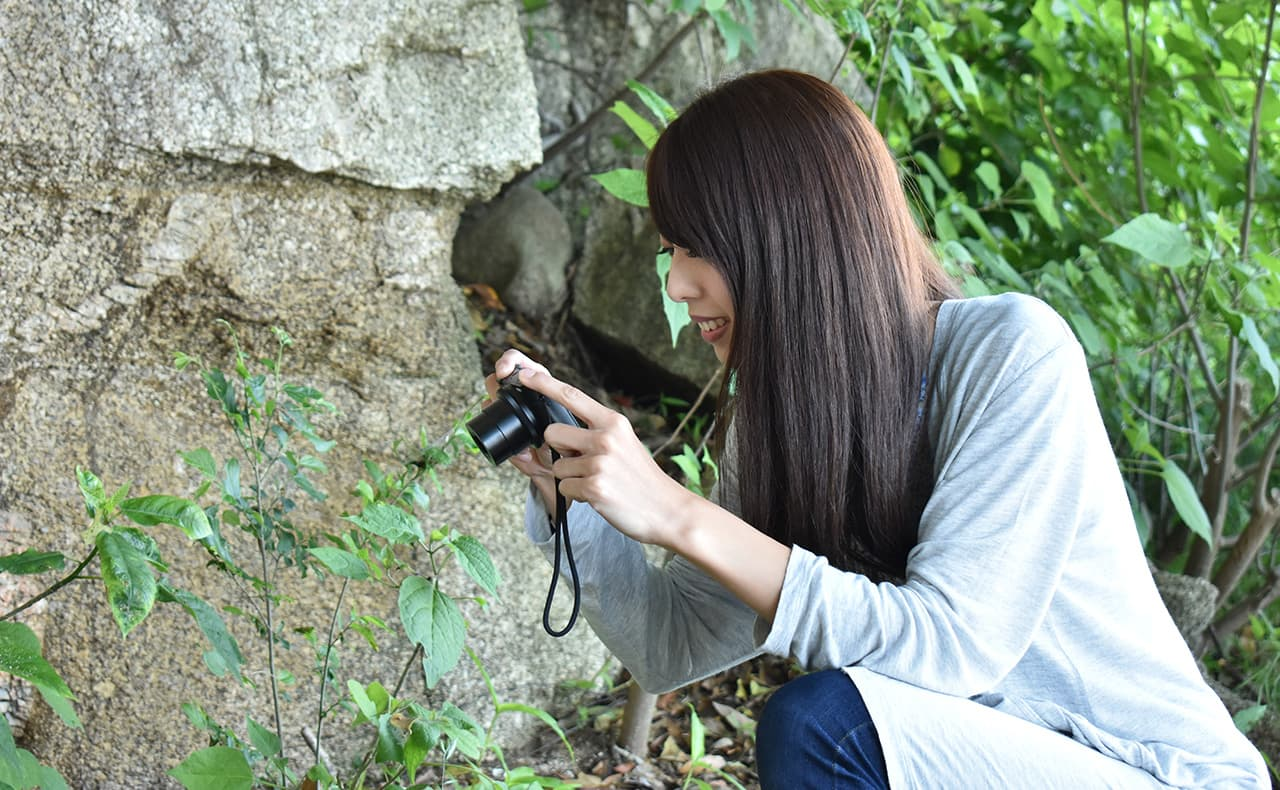 カメラ、公園